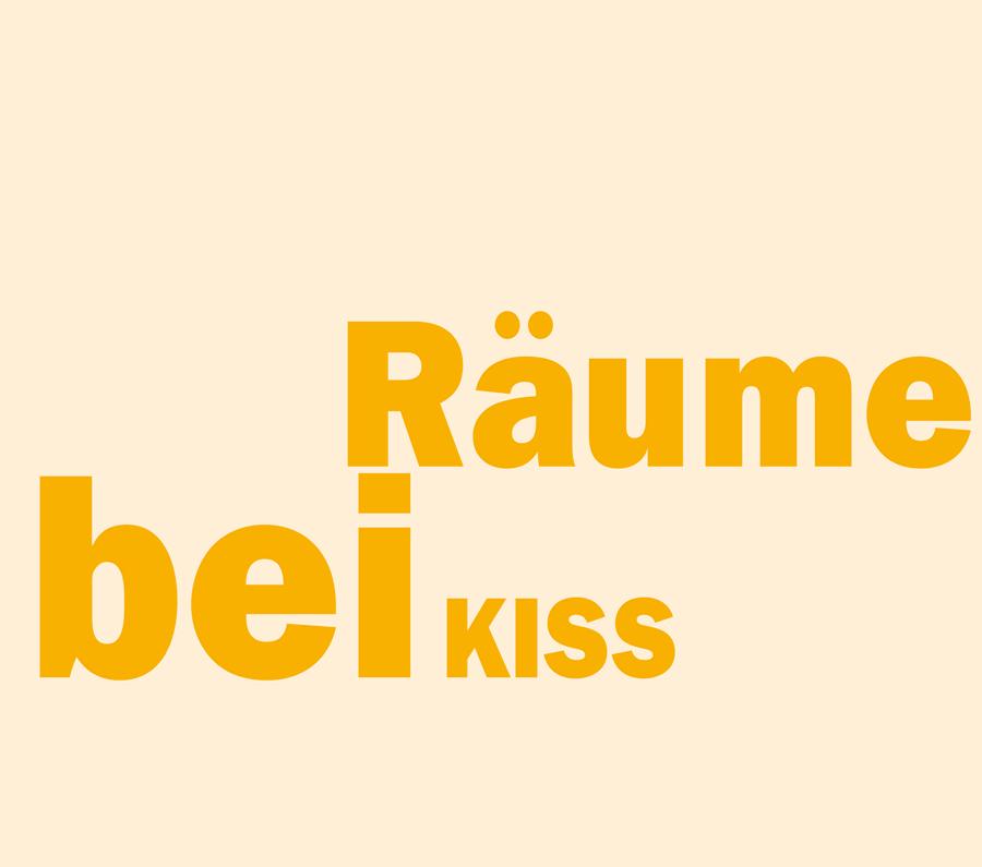 Überschrift: Räume bei Kiss