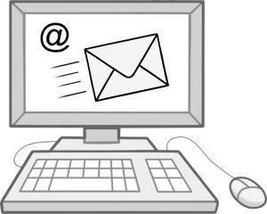 Bild: Computer mit Email