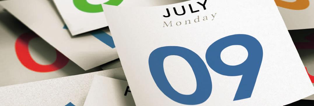 Bild Kalenderblätter