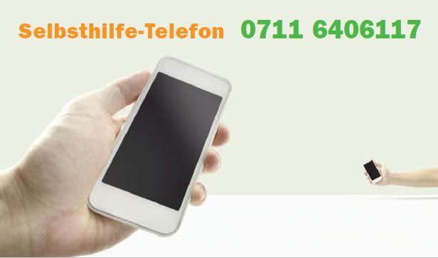 Selbsthilfe Telefonnummer 0711 6406117