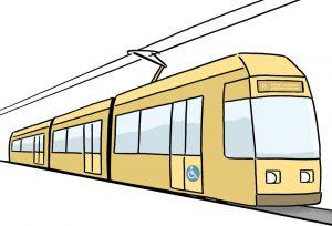 Bild: Straßenbahn