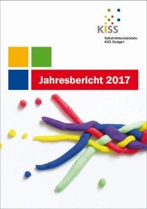 Bild: Titelseite Jahresbericht 2017, bunte Knetschnüre bilden einen Strang