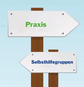 Bild: Zwei Schilder zeigen in entgegengesetzte Richtungen