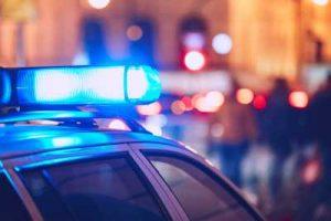 Bild: Polizeiauto mit Blaulicht