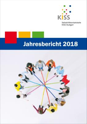 Bild: Titelseite Jahresbericht 2018