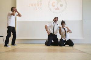 Bild: Die Wilde Bühne Stuttgart zeigt Improtheater in Aktion
