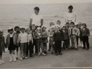 Bild: Kleine Kinder aus dem Jahr 1961