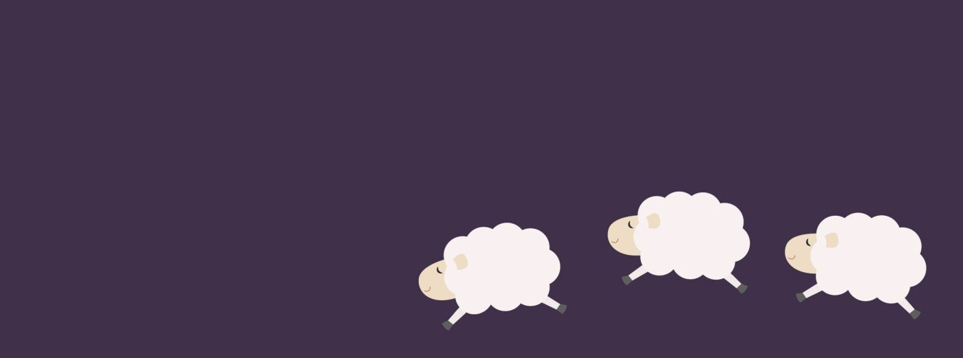 Bild: Schafe hüpfen