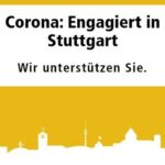 Bild: Logo Corona: Engagiert in Stuttgart