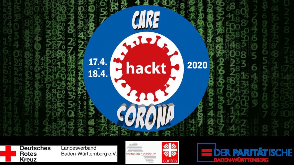 Bild: Logo Care hackt Corona