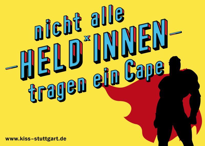Bild: Superheldumriss